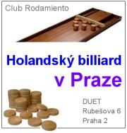 Holandský billiard v Praze