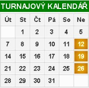 TURNAJOV� KALEND��